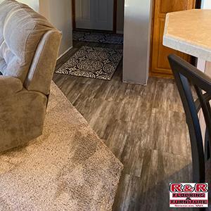 laminate flooring meets carpet